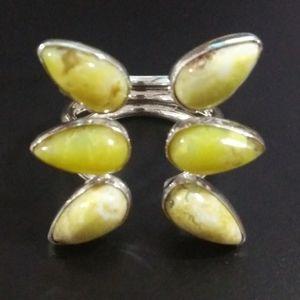 Jay King DTR sterling gemstone ring